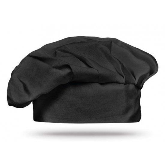 Luxe zwarte koksmuts