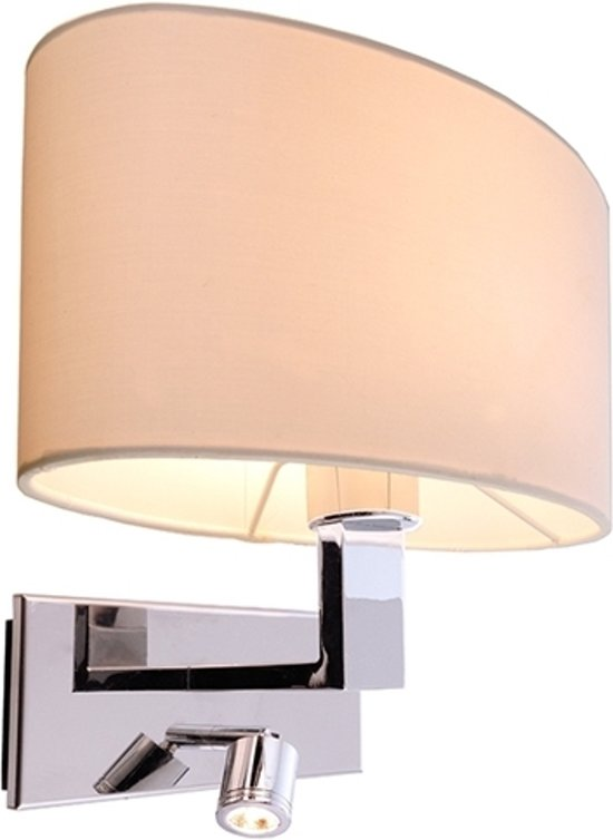 bol.com | Zoomoi Roberta round | Wandlamp slaapkamer met led ...