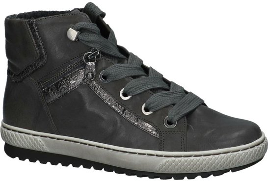 b4afe2f5f39 bol.com | Gabor - 93755 - Hoge sneakers - Dames - Maat 36 - Grijs ...