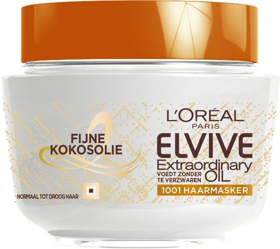 L'Oréal Paris Elvive Extraordinary Oil Haarmasker - 300 ml - Fijne Kokosolie