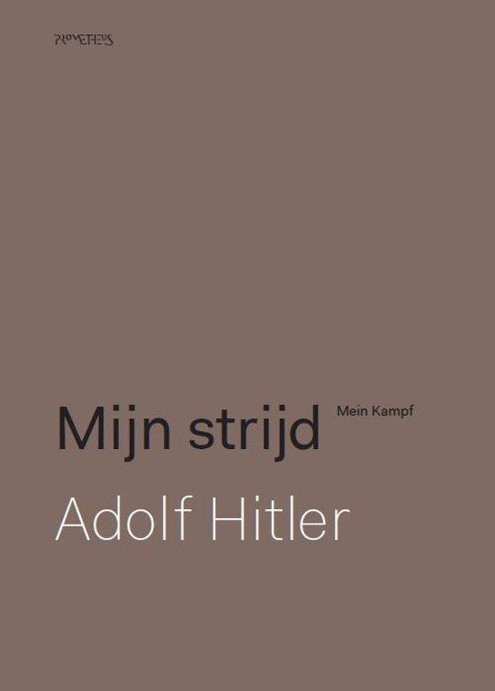 Boek cover Mijn strijd: kritische editie van Adolf Hitler (Hardcover)