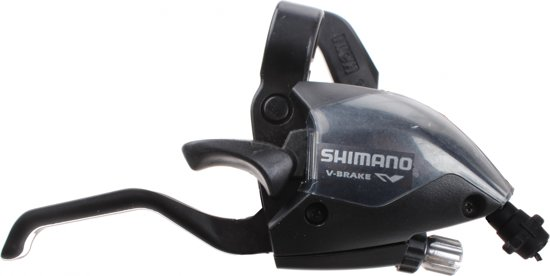 Shimano Shifter Stef51 Rechts 7s 4-vingers 1700 Mm Zwart