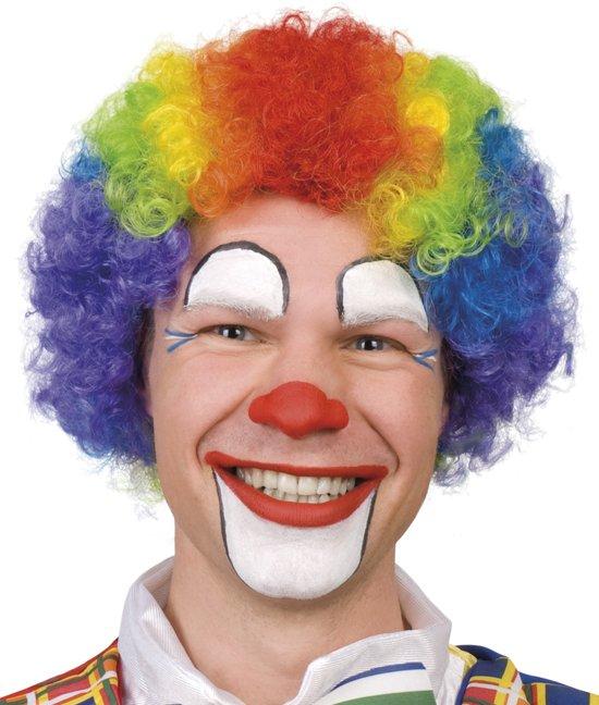 Bolcom Pruik Krullen Clown Multi Color Boland Speelgoed