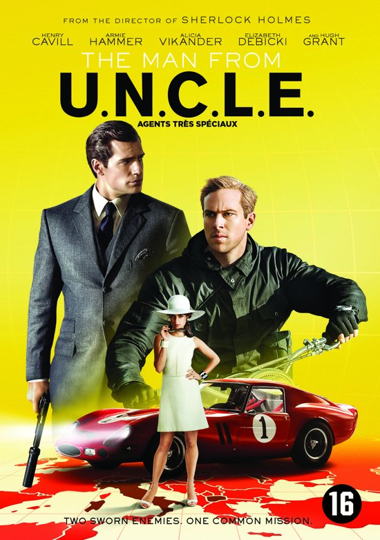 DVD cover van The Man From U.N.C.L.E.