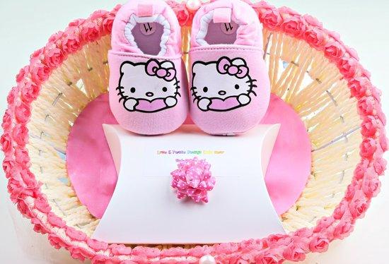 Baby - Geschenkset - Hello Kitty - Sloffen
