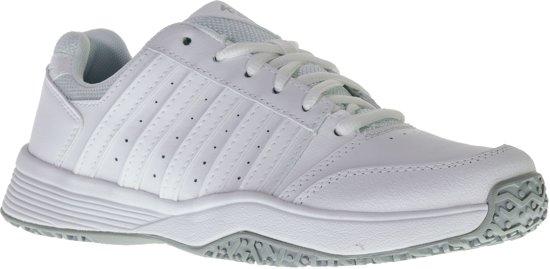 255c684bafa bol.com | K•Swiss COURT SMASH OMNI-WHITE/WHITE/HIGHRISE - Tennisschoenen