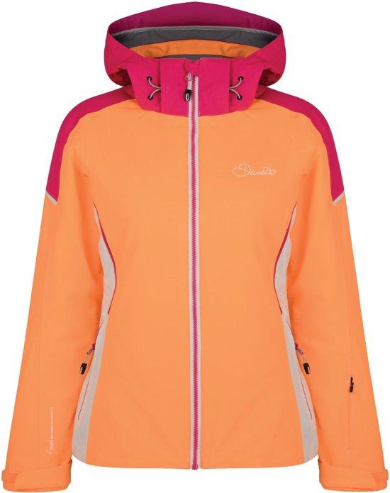 Dare2b Contrive Jacket Wintersportjas Vrouwen MAAT XXL Oranje
