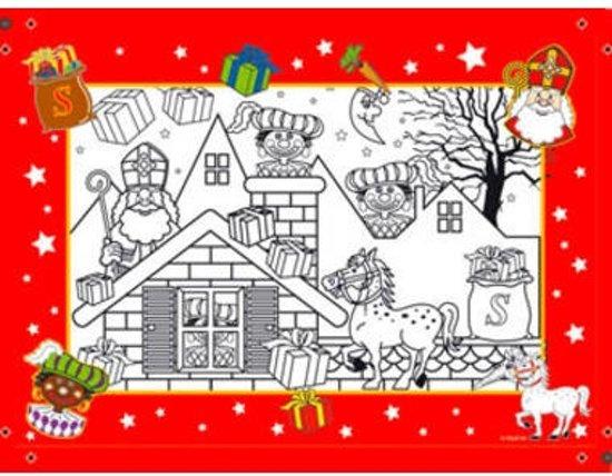 Bol Com Sinterklaas Kleurplaat A4 6 Stuks Folat Speelgoed