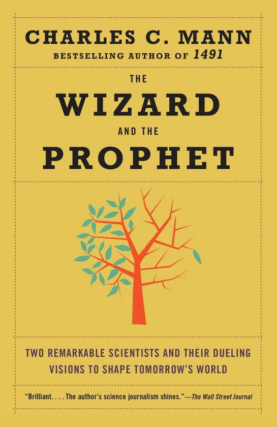 Boek cover The Wizard and the Prophet van charles c. mann (Paperback)