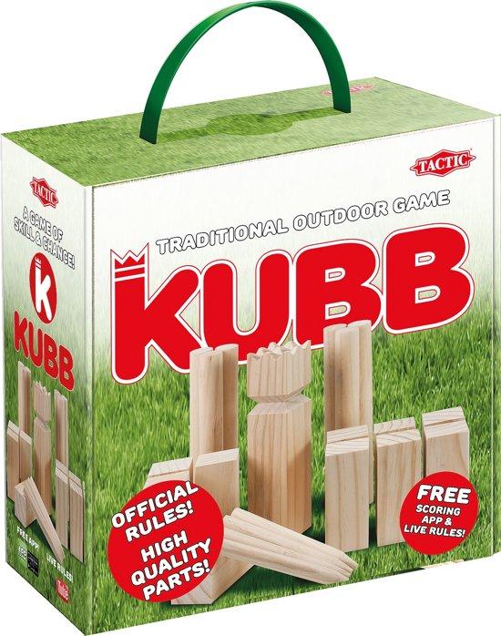 Kubb in Cardboard Box