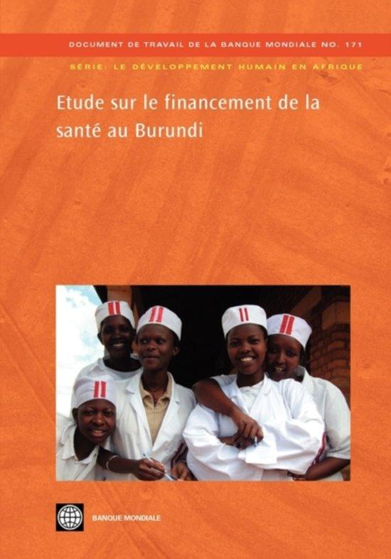 Etude sur le financement de la sante au Burundi