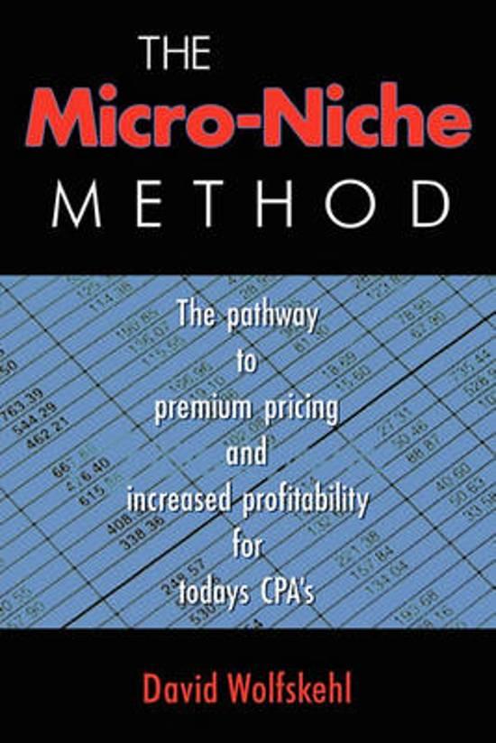 The Micro Niche Method