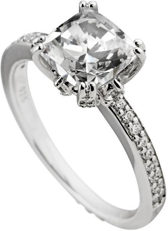 ring zilver met steen