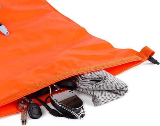 MARJAQE® Zwemboei met drybag - Veilig open water zwemmen