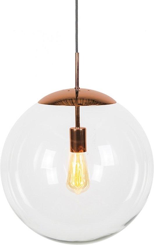 Iets Nieuws bol.com   QAZQA Ball 40 - Hanglamp - 1 lichts - mm - koper #EB17