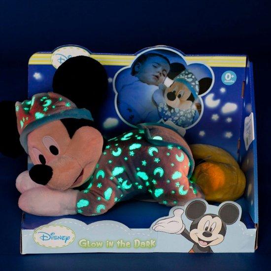 Knuffel Met Licht : Bol.com disney glow in the dark mickey mouse knuffel 30 cm