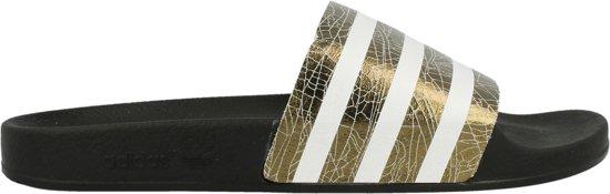 info for 1595b b018c adidas slippers zwart goud