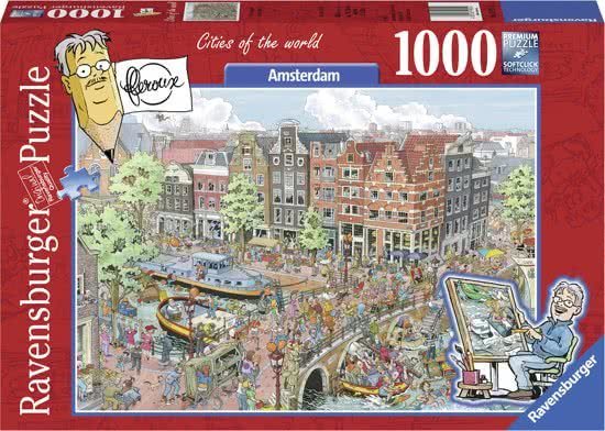 Ravensburger Fleroux - Amsterdam - 1000 Stukjes