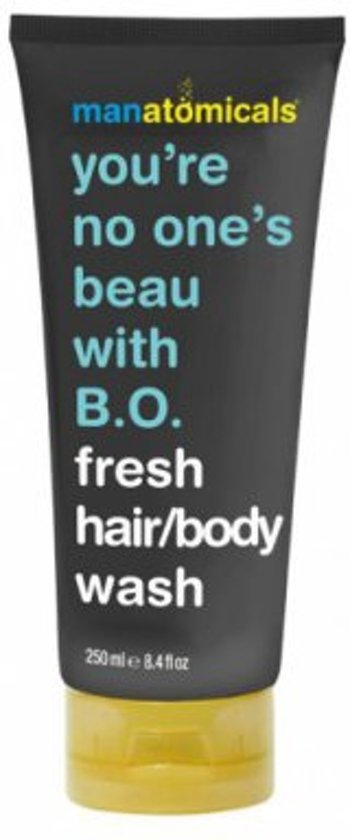 You're no one's beau with B.O. - Hair and Body Wash Men - 250 ml