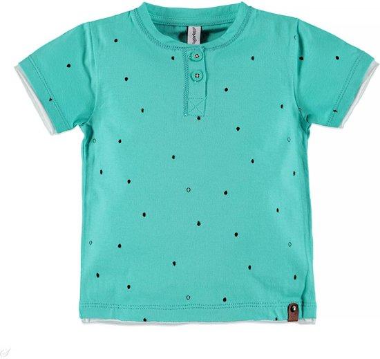Babyface Jongens T-shirt - Mintgroen - Maat 104