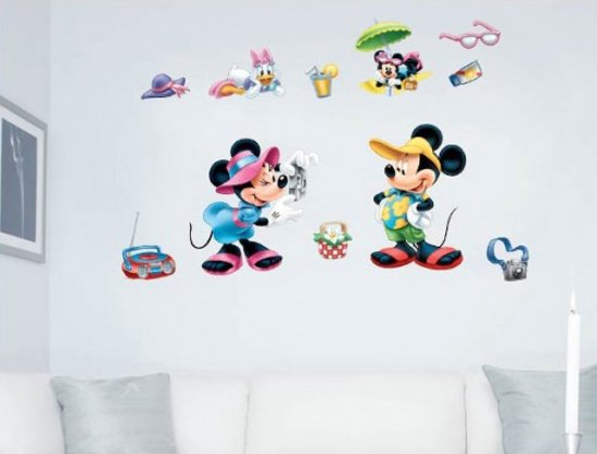 Mickey Mouse Muursticker.Bol Com Disney Mickey Mouse Friends Muursticker