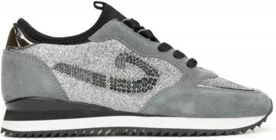 adidas superstar glitter zwart