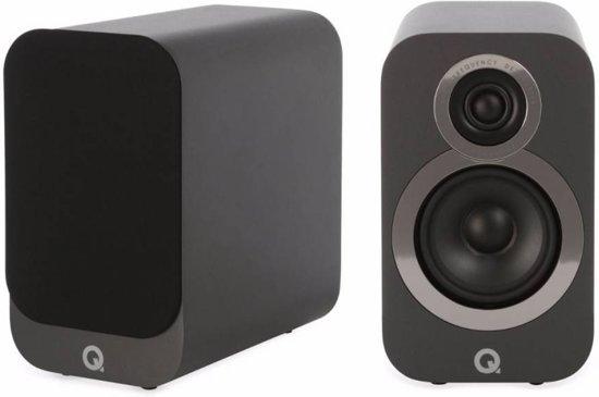 Q-Acoustics 3010i - Boekenplank Luidsprekers - Grafiet ( per paar )