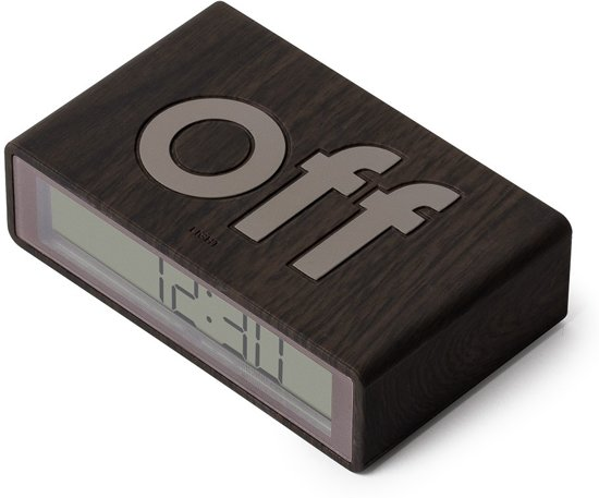Lexon Flip Travel Mini Wekker 2,4 x 8,4 cm