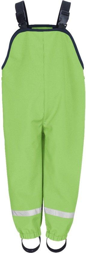 Playshoes - Softshell broek met bretels voor kinderen - Groen