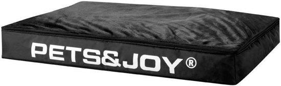 Pets & Joy Hondenkussen Dog Bed - L - 80 x 120 cm - Zwart