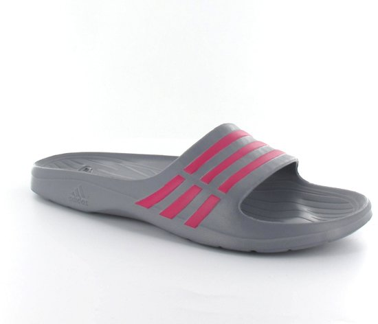 best sneakers eea2d 6eaf2 adidas Duramo Sleek Womens - Slippers - Dames - Maat 33.5 - Grijs