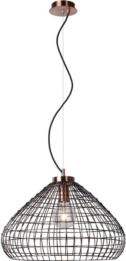 Lucide MOINO - Hanglamp - Ø 50 cm - Koper