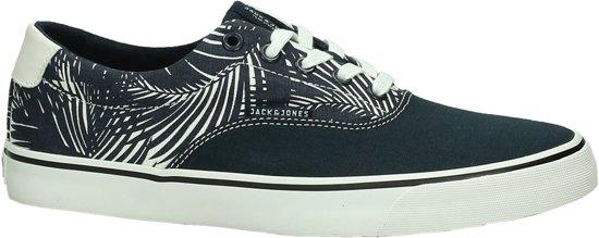 0600e29ad85 Jack & Jones - Surf Canvas Print Low - Sneaker laag - Heren - Navy Blazer