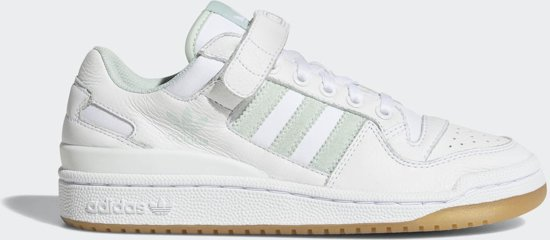 9a2c95112d4 adidas Forum Low Sneakers Dames - Ftwr White/Vapour Green/Gum3 - Maat 37