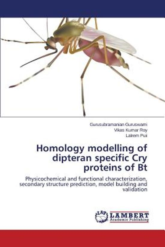 Homology Modelling of Dipteran Specific Cry Proteins of BT