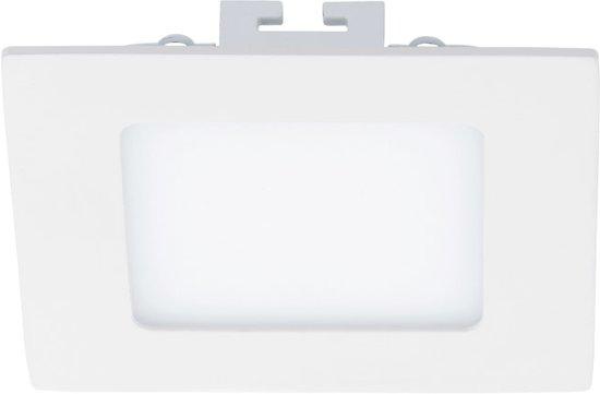 EGLO Fueva 1 - Inbouwspot - LED - Wit - 4000K