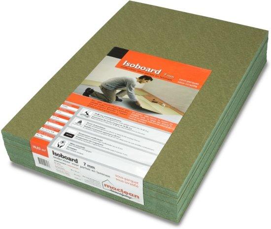 Ondervloer Voor Tapijt : Bol.com ondervloer groene platen 7mm 10 03m2 per pak