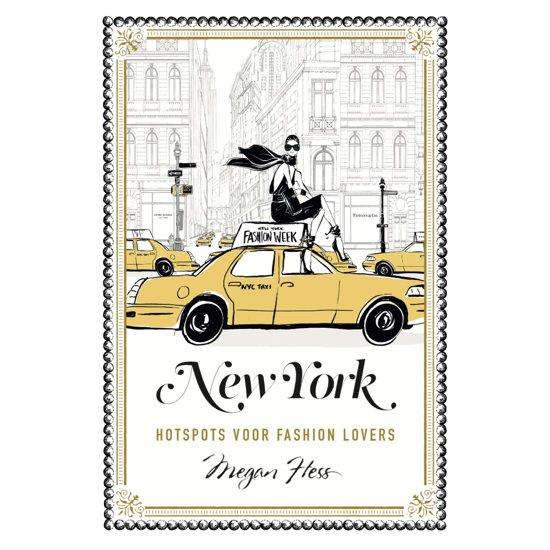 Boek cover New York van Megan Hess (Hardcover)