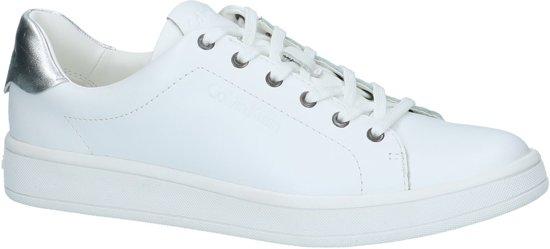 Sneaker Wit Laag Calvin Dames Maat Wsi Whitesilver Solange 39 Klein Gekleed vNnwOm80