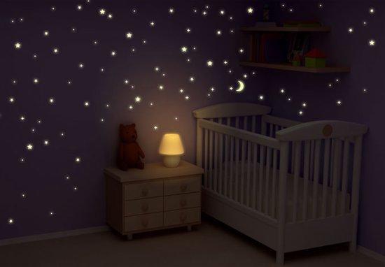 Bol glow in the dark sterren stickers voor de kinderkamer