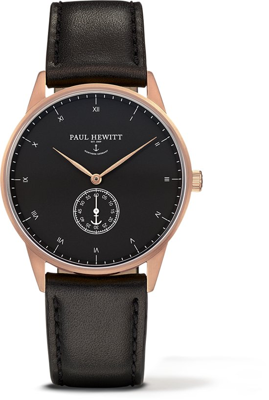 Paul Hewitt Sig Line Rose Gold Horloge