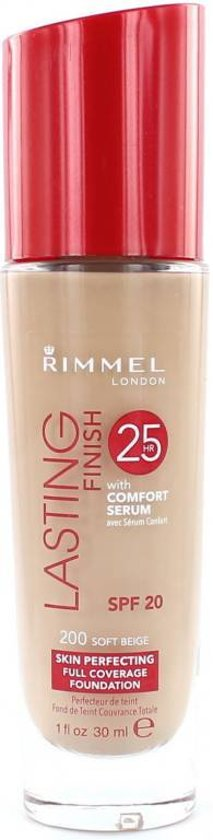 Rimmel London Lasting Finish - 200 Soft Beige - Foundation