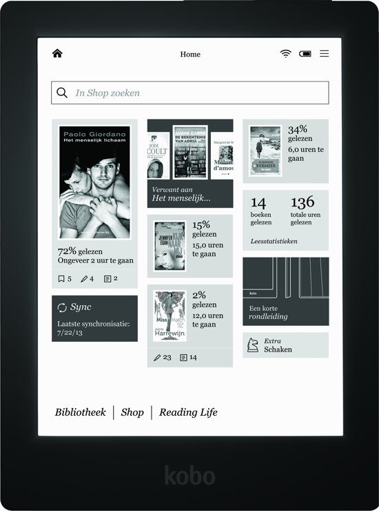 Kobo Aura HD Refurbished - e-reader