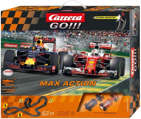 Max Action Carrera GO Verstappen vs. Vettel Racebaan