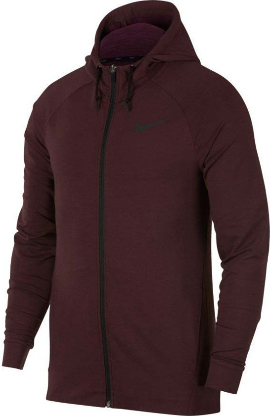 a712c75225a2 Nike NSW Dri-FIT Hoodie - Sweaters - rood donker - L