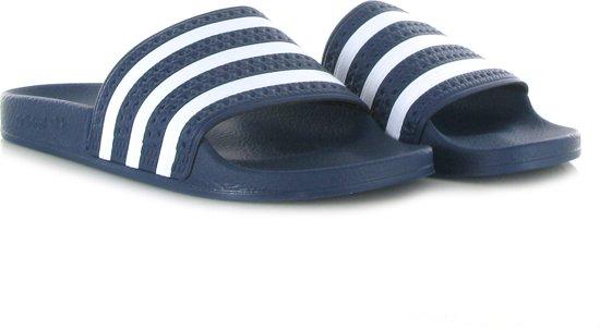 bol.com | adidas Adilette Heren Slippers - Adiblue/White ...
