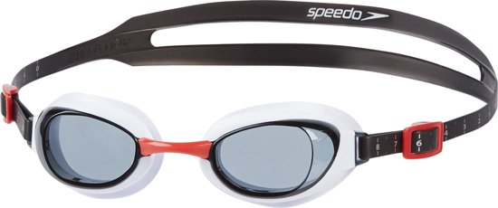 Speedo Zwembril Aquapure - Unisex - Rood - One Size