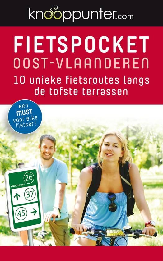 Boek cover Knooppunter - fietspocket oost-vlaanderen van Patrick Cornillie