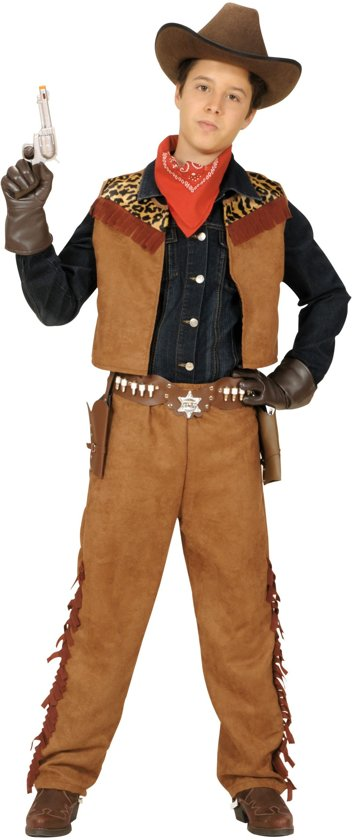 Cowboykostuum jongen - Verkleedkleding - 128-140