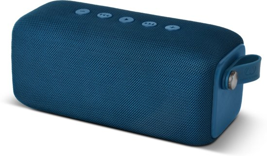 Fresh 'n Rebel Rockbox Bold M Waterproof Bluetooth Speaker Indigo